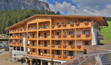 Vacations at the Hotel Serena at Badia in Alta Badia.