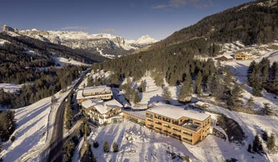 Free Bedrooms at San Cassiano in the Hotel Gran Paradiso