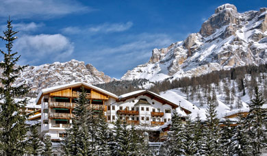 Winter holidays at Hotel Rosa Alpina at San Cassiano